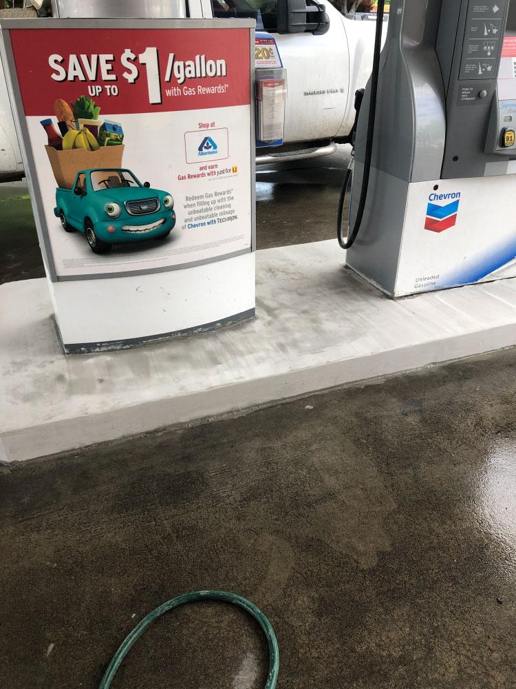 Fuel Island Restoration Project